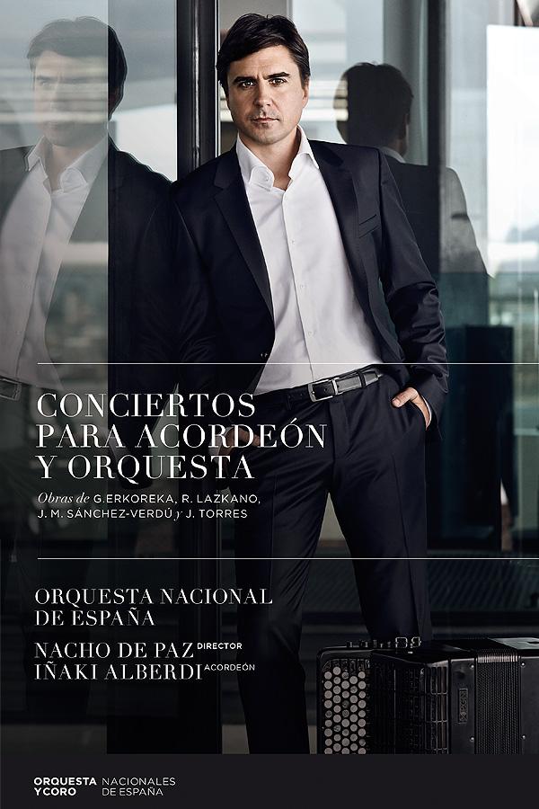 Disco Conciertos para Acordeón y Orquesta
