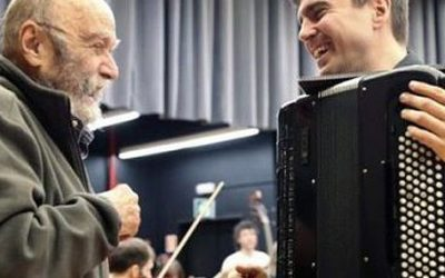 ALBERDI GRABA AMICITIA DE LUIS DE PABLO CON LA ORQUESTA SINFÓNICA DE BILBAO
